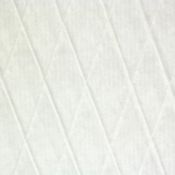 Diamond  shaped  threads – in  paper  ( white )