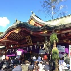 西宮神社でteshio paperの今年を祈願して参拝!!