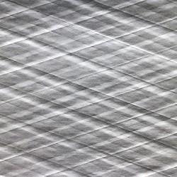 Diamond  shaped  threads – in  paper ・ Aluminum  kraft