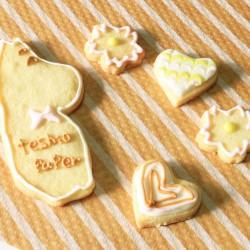 母の日にクッキーと花束を!!