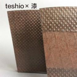 初の漆×teshio paperのコラボ!!『栗本夏樹展』