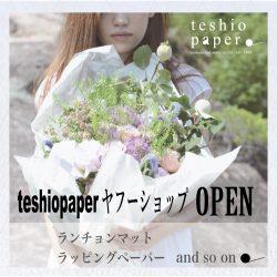 【teshiopaperヤフーショップ】Yahoo!ショッピングに製品を出店☆