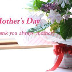 5月13日は『母の日』に感謝を込めて花束を。