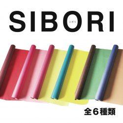 新商品【SIBORIシリーズ】全6種類をロールでご紹介!!