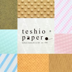 12月の「紙博in福岡」に向けてteshio paperも準備中。