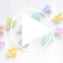 『KURUKURU HANAGURUMA KIT』クルクル花ぐるまの仕上がりイメージをYouTube動画に。