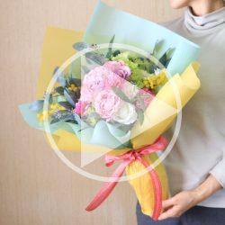 おすすめ【ドロップシリーズを使用した花束ラッピング】動画公開‼
