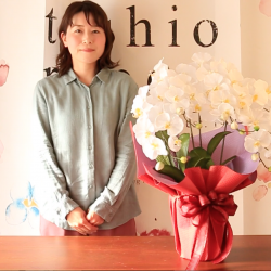 SIBORIの胡蝶蘭ラッピング動画をYouTubeで本日公開‼